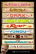 Poster Guardiani della Galassia Vol. 2  n. 2