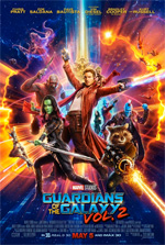 Poster Guardiani della Galassia Vol. 2  n. 3