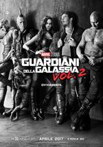 Poster Guardiani della Galassia Vol. 2  n. 4
