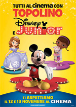 Locandina Tutti al cinema con Topolino e Disney Junior