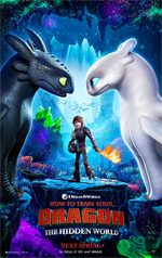 Poster Dragon Trainer - Il Mondo Nascosto  n. 2