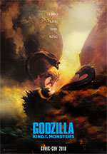Poster Godzilla II - King of the Monsters  n. 1