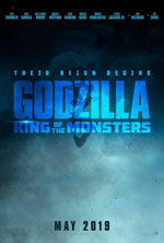 Poster Godzilla II - King of the Monsters  n. 2