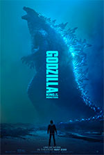 Poster Godzilla II - King of the Monsters  n. 3
