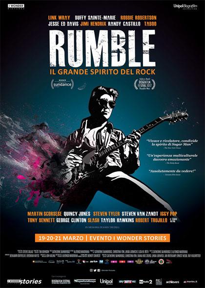Trailer Rumble - Il grande spirito del rock