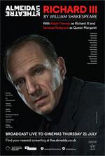 Poster Almeida Theatre Live - Riccardo III  n. 1