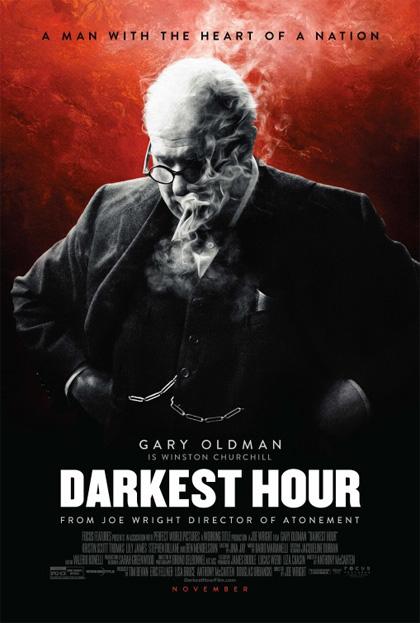 Poster L'ora più buia
