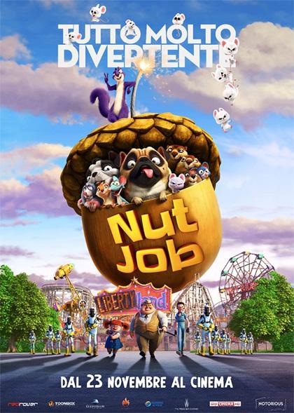 Trailer Nut Job - Tutto molto divertente