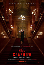Poster Red Sparrow  n. 1