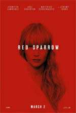 Poster Red Sparrow  n. 2