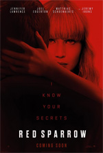 Poster Red Sparrow  n. 3