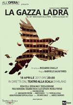 Poster Teatro alla Scala di Milano: La Gazza Ladra  n. 0