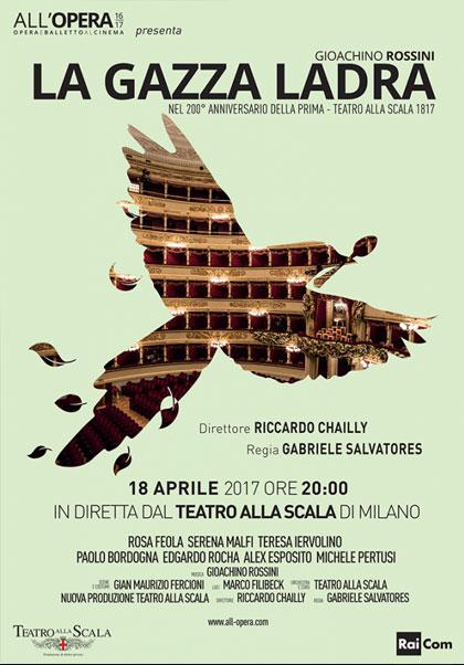 Calendario Teatro Alla Scala.Teatro Alla Scala Di Milano La Gazza Ladra 2017 Mymovies It