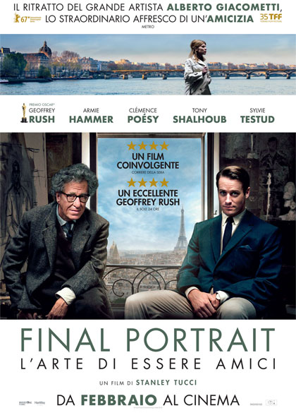 Trailer Final Portrait - L'Arte di essere Amici