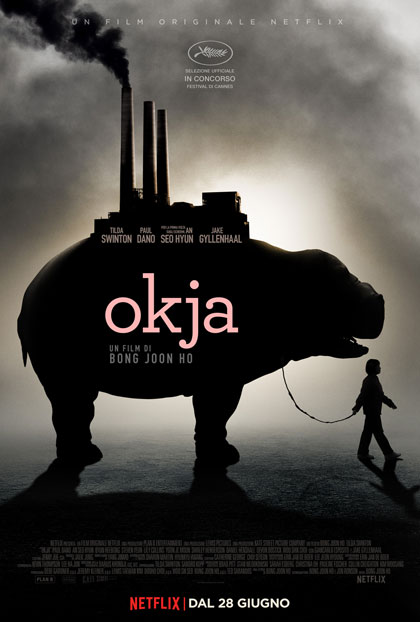 Locandina italiana Okja