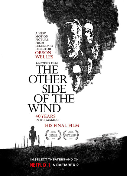 Locandina italiana The Other Side of the Wind