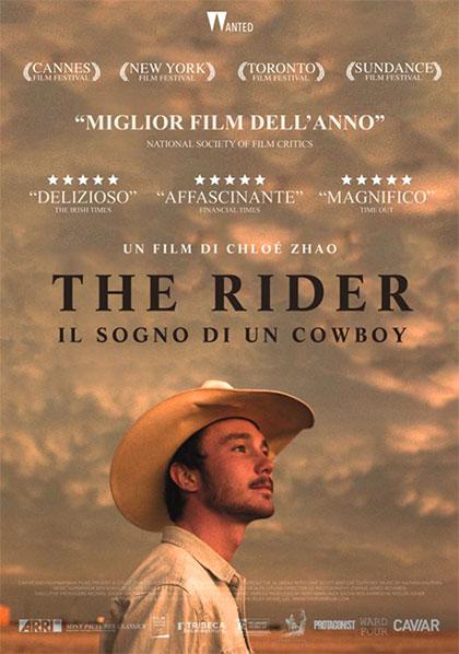Locandina italiana The Rider - Il sogno di un cowboy