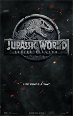 Poster Jurassic World - Il regno distrutto  n. 1