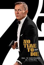 Poster No Time To Die  n. 4