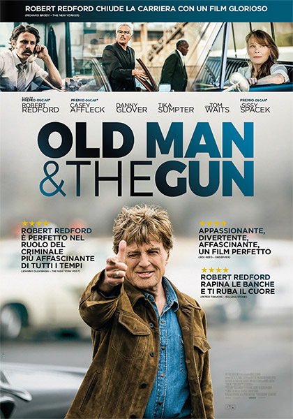 Locandina italiana Old Man & the Gun