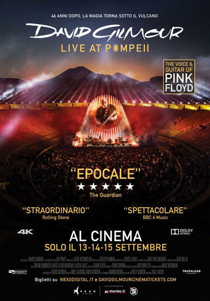 David Gilmour Live At Pompeii