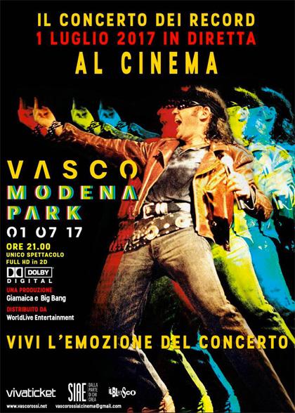 Modena park vasco rossi Film 2017