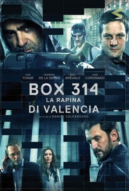 Locandina italiana Box 314: La Rapina di Valencia