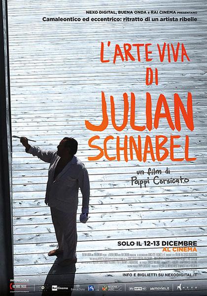 Risultati immagini per JULIAN SCHNABEL. A PRIVATE PORTRAIT locandina italiana