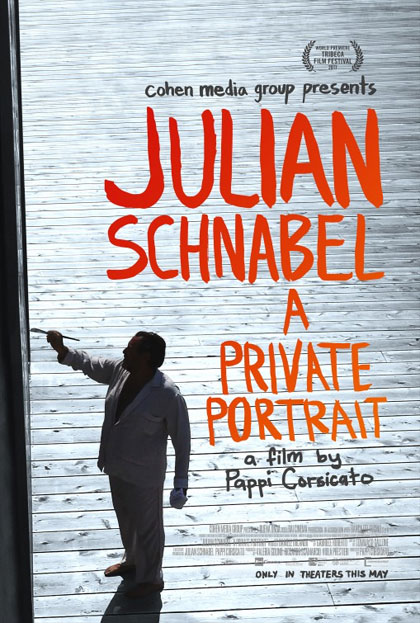 Poster L'arte viva di Julian Schnabel