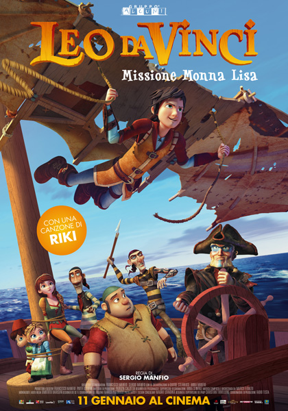 Trailer Leo da Vinci - Missione Monna Lisa