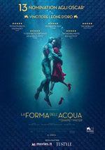 Poster La forma dell'acqua - The Shape of Water  n. 0