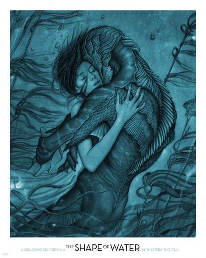 Poster La forma dell'acqua - The Shape of Water
