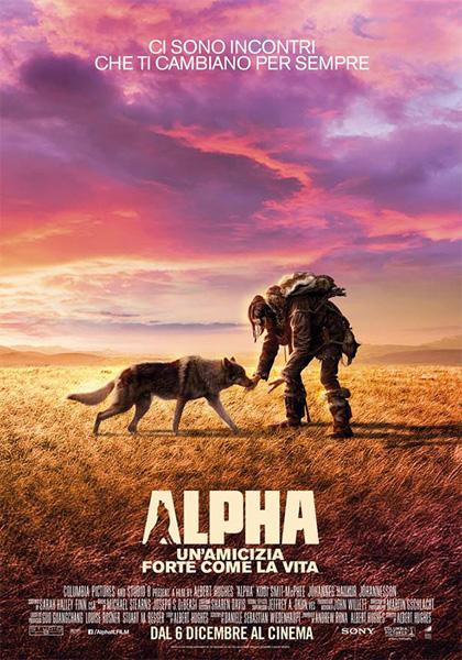 Locandina italiana Alpha - Un'amicizia forte come la vita