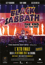 Poster Black Sabbath - The End of the End  n. 0