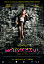 Poster Molly's Game  n. 0