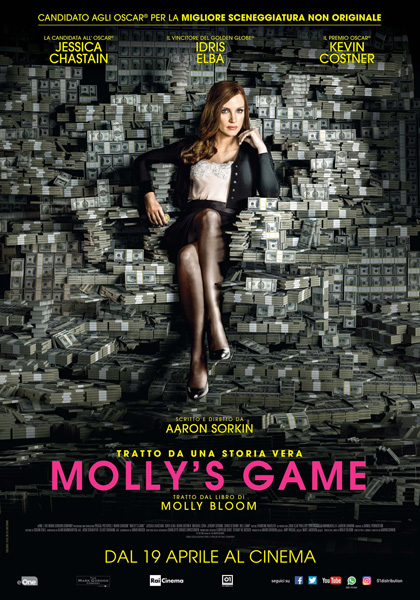 Locandina italiana Molly's Game