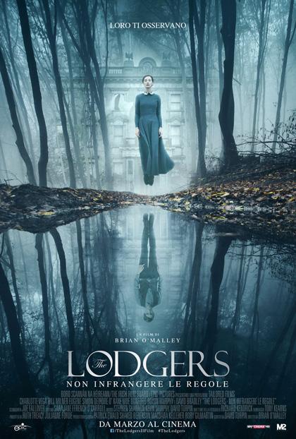 Locandina italiana The Lodgers - Non Infrangere le Regole
