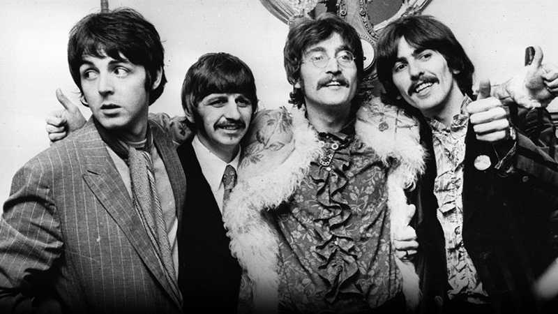 The Beatles, Hippies and Hells Angels
