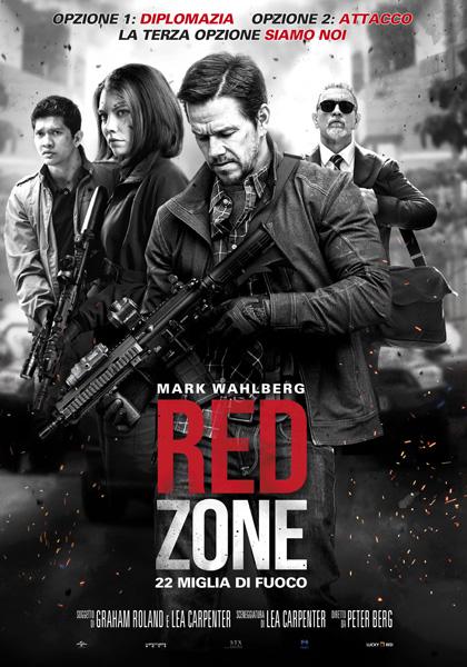 Locandina italiana Red Zone - 22 Miglia di Fuoco