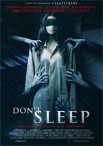 Poster Don't Sleep  n. 0