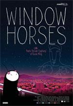 Trailer Window Horses