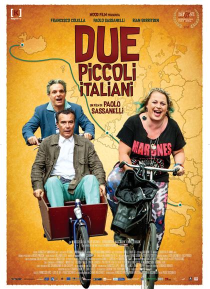 Locandina italiana Due piccoli italiani