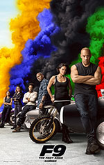 Poster Fast & Furious 9  n. 2