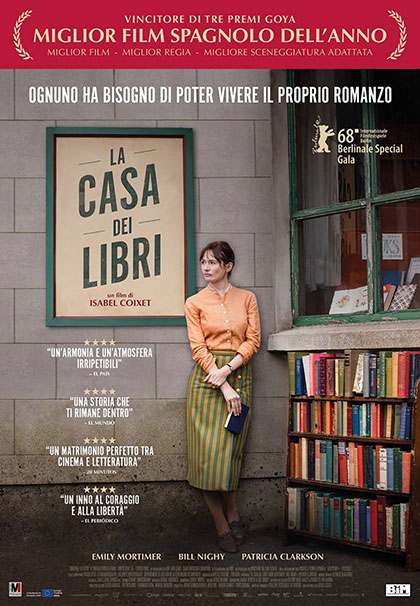 Locandina italiana La casa dei libri