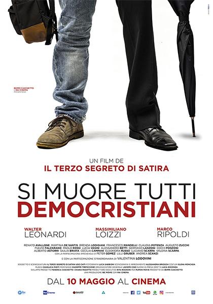 Locandina italiana Si muore tutti democristiani