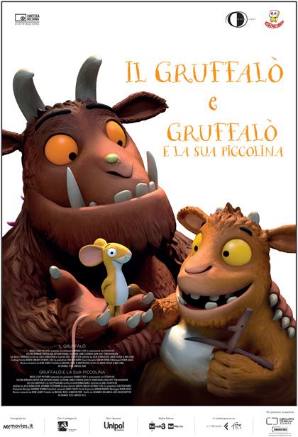Locandina italiana Il Gruffalò & Gruffalò e la sua Piccolina