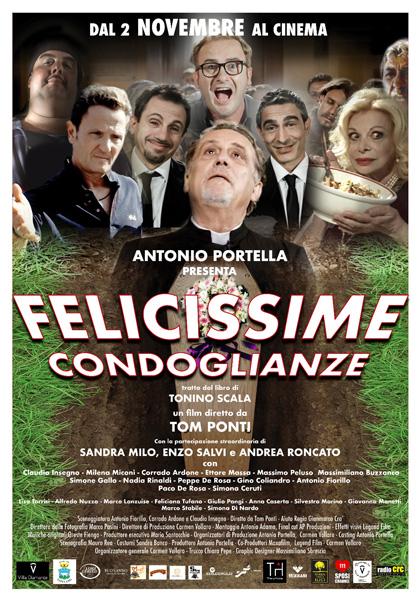 Locandina italiana Felicissime Condoglianze