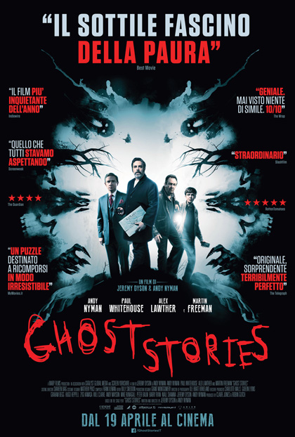 Locandina italiana Ghost Stories