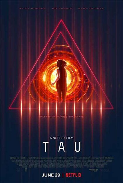 #TAU: recensione del film originale Netflix sull'intelligenza artificiale