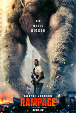 Poster Rampage - Furia animale  n. 1
